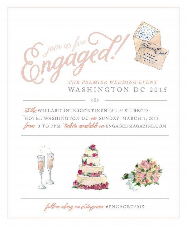 Wedding Plans Engaged! Magazine Bridal Showcase, DC - In a DC Minute