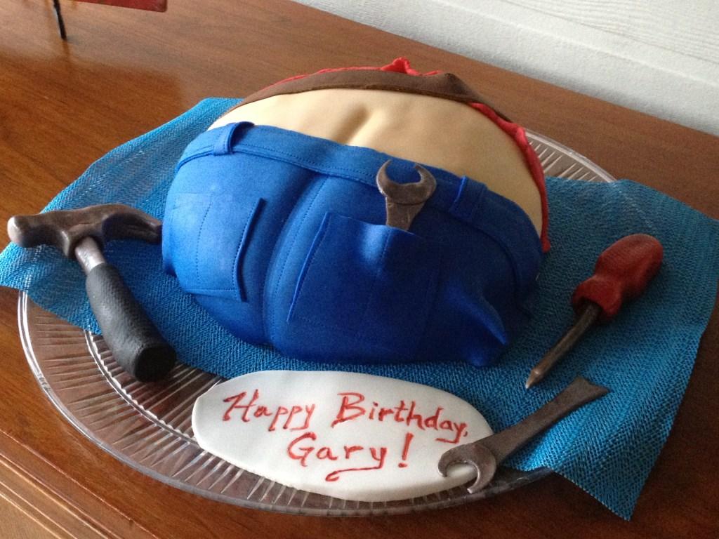 Butt crack cake