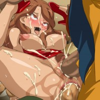Natsumi Raimon gets double penetrated... and by the look of her face she doesn't want this to stop!