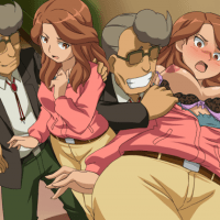 Natsumi Raimon has so nice tits - no wonder this guys wants to take a better look at them!
