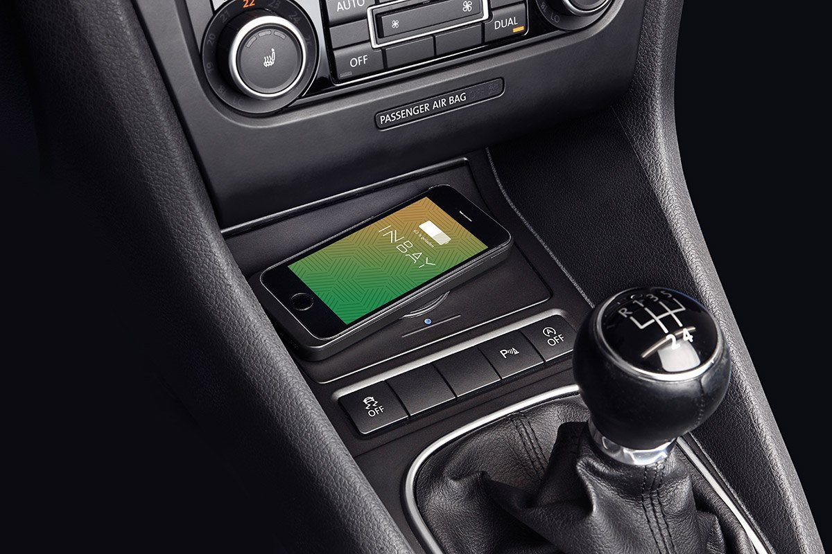 Smartphone Induktives Laden Induktives Ladefach Für Vw Jetta | Inbay Wireless Charging