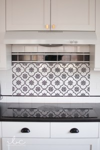 Patterned Tile Backsplash - House Beautiful - House Beautiful