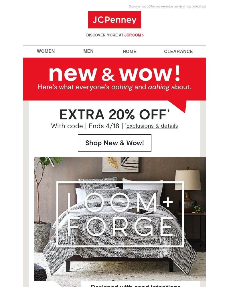 Jcpenney Newsletter Subscriber