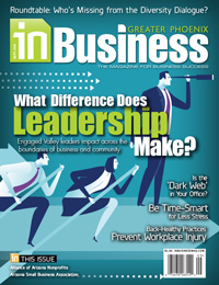 August 2016 In Business Magazine Cover