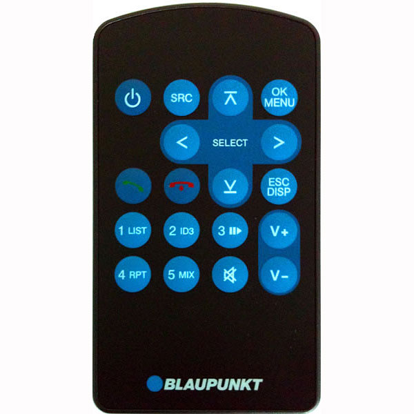 Camper Car Blaupunkt Hand-held Remote Control For 410 310 210 And 110