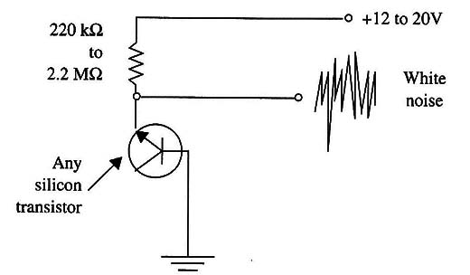 figure 1 white noise generator circuit