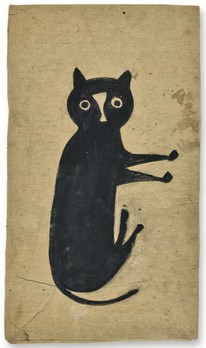 Mexican Bathroom The Met Exhibits Rarely Seen Drawings By Bill Traylor By
