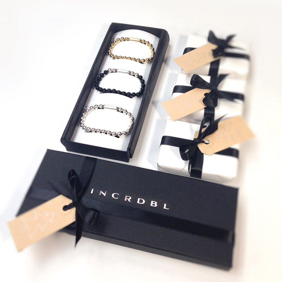 Giftbox INCRDBL armbanden