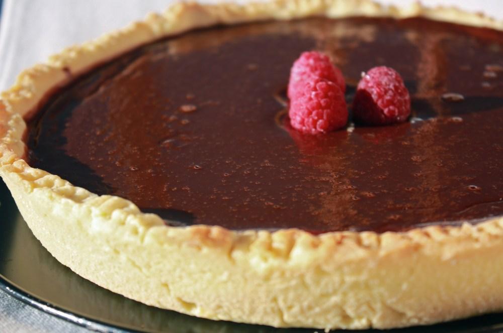 Tarte moelleuse au chocolat: perfetta per papà! (1/3)