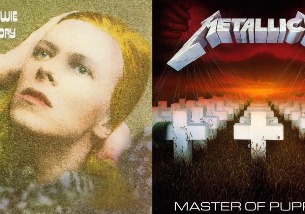 parallele-flagrant-bowie-metallica