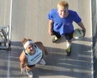 Star Athletes: Stamatia Scarvelis and Shane Hauschild