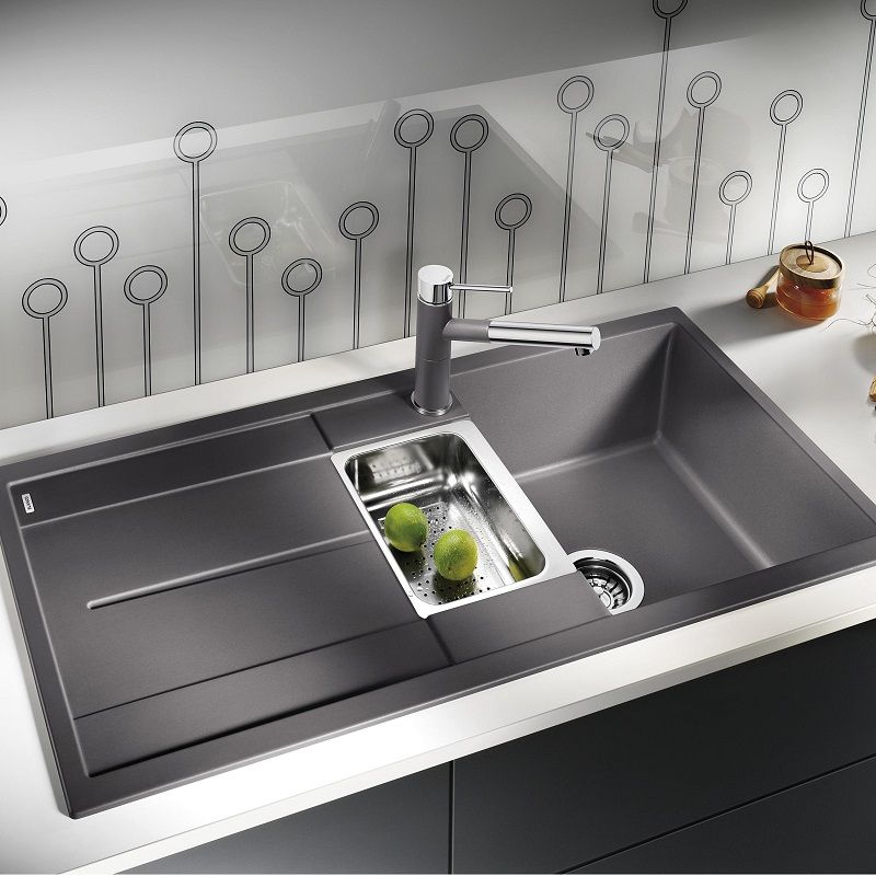 Blanco Metra 6s Blanco Metra 6 S A La Carte Silgranit Sink And Tap Pack