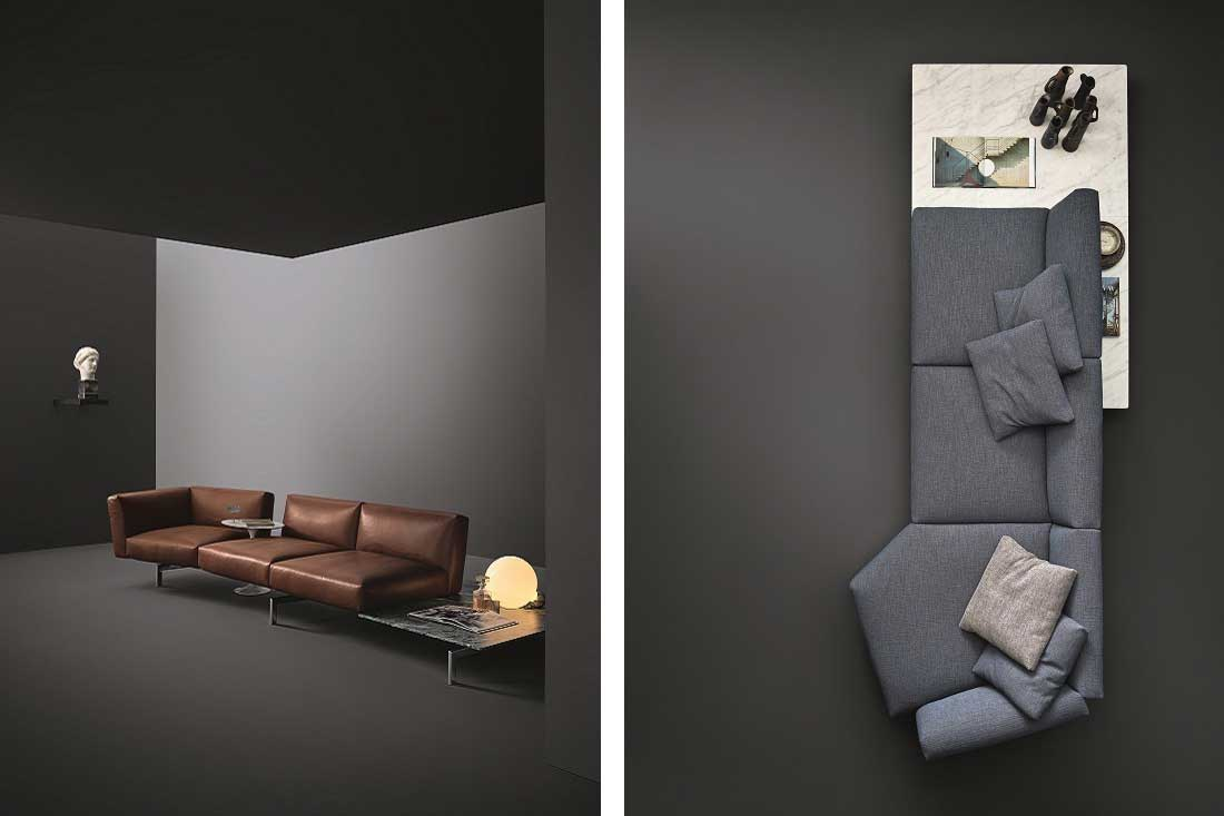 Piero Lissoni Modular Sofa Avio The Modular Sofa Has Just Gotten More Flexible