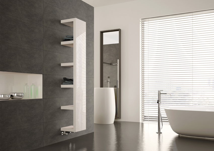 Wandschrank Flach Quadra From Mhs Radiators Provides Practical Perfectionin