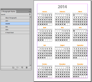 Calendar 2014 Template Indesign Indesign Templates Designfreebies Its Indesign Calendar Template Time From Indesignsecrets