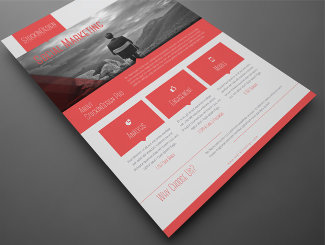 Premium Member Benefit Corporate Flyer Templates - InDesignSecrets - benefit flyer template