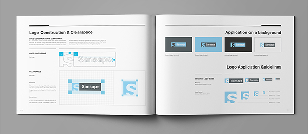 Indesign Identity Manual Template - Product User Guide Instruction \u2022