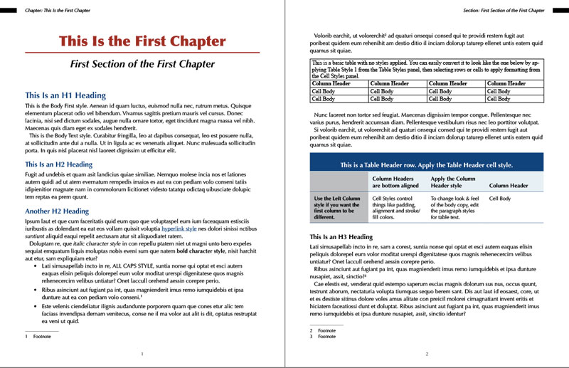 InDesign Template of the Month Tech Manual - InDesignSecrets - how to manual template