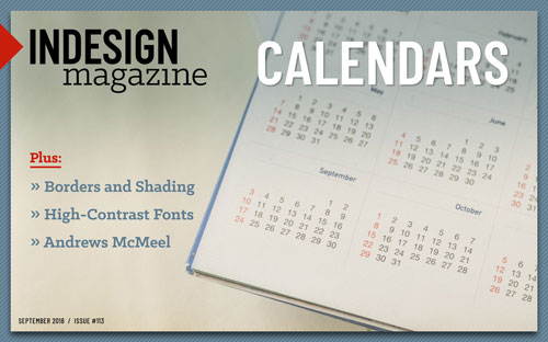 Making Calendars the Andrews McMeel Way - InDesignSecrets