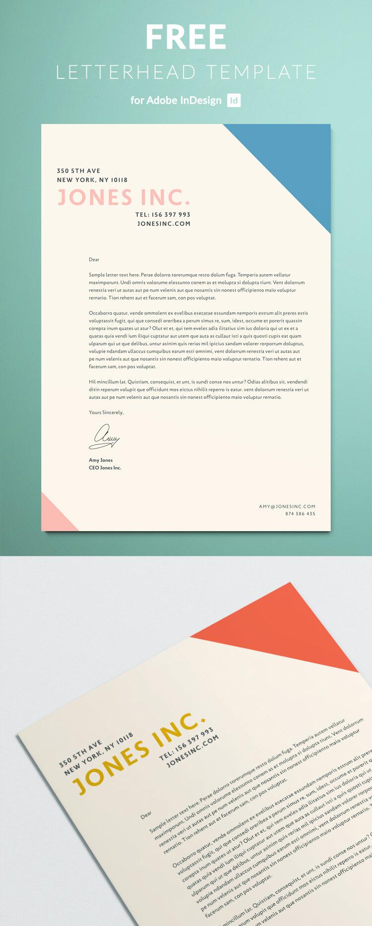 letterhead business letter