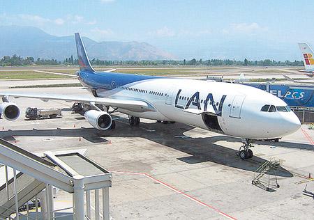 """Nota periodística del diario Página/12: """"Avanzan las aerolíneas extranjeras"""""""