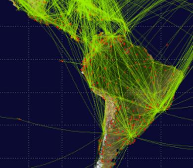 La calidad de los hubs de América Latina.