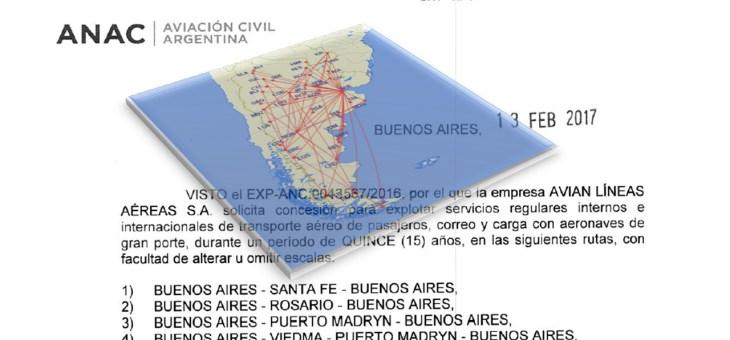 Resultados de la audiencia pública 218 sobre los pedidos de servicios aéreos regulares