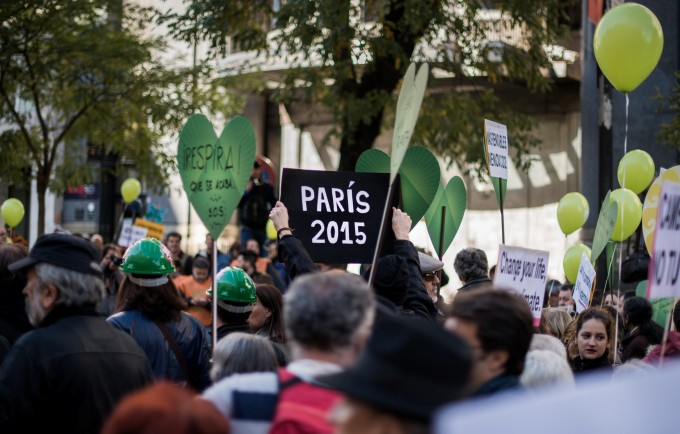 Climate protest in Madrid, Spain (Image by Adolfo Lujan)