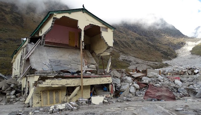 Flash floods have become an annual ordeal in Uttarakhand. (Photo by Dev Dutt Sharma)