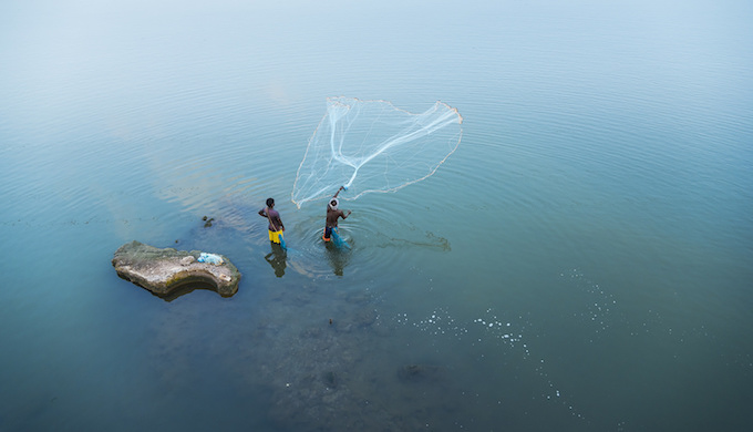 Fisheries in India have grown more than 10 times since independence. (Photo by Kannan Muthuraman)