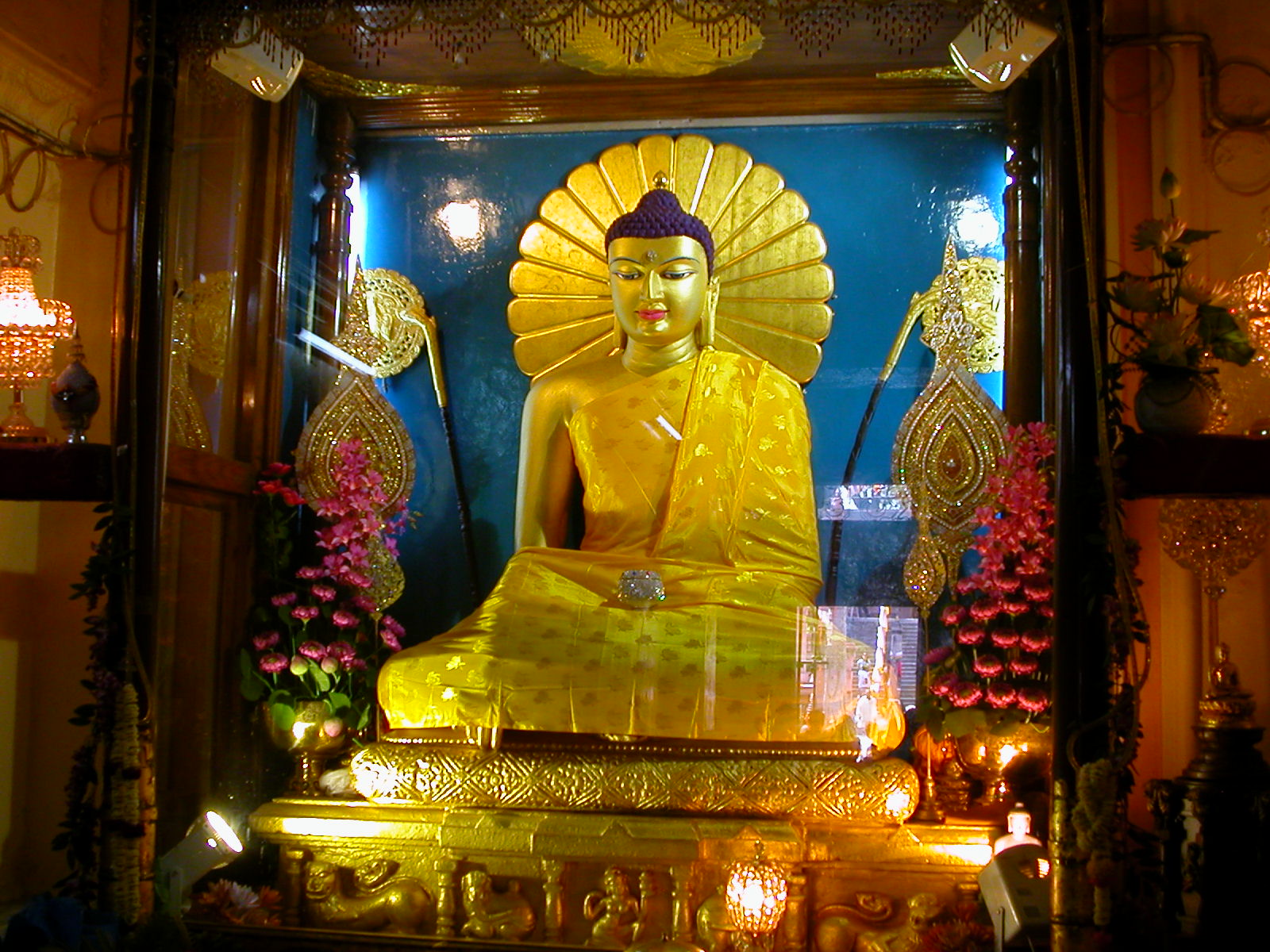 Lord Buddha 3d Live Wallpaper The Great Awakening At Mahabodhi Temple India Heritage Sites