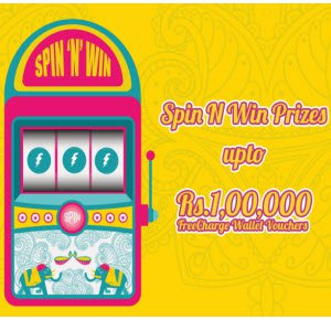 {Loot}FreeCharge Spin And Win Diwali Offer – Get Free Credits On Recharges