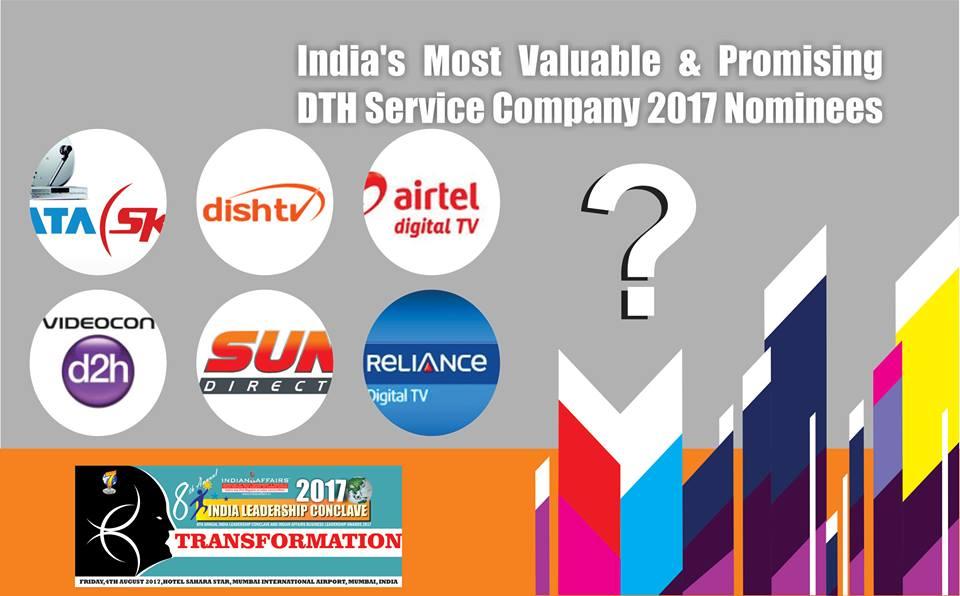 Tata Sky,Dish TV,Airtel Digital TV,Videocon D2H,Sun Direct