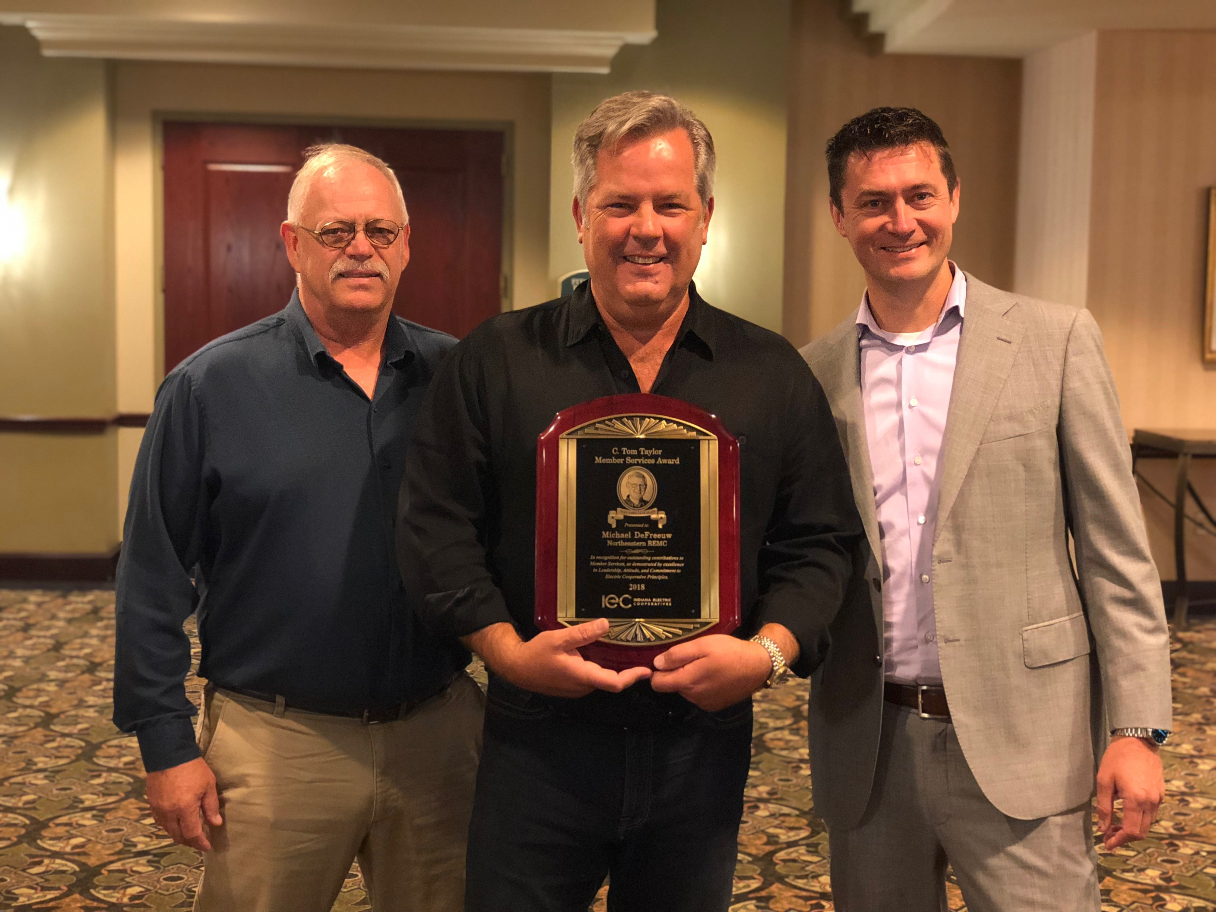 Www Tom Taylor De Tom Taylor Award Defreeuw Indiana Electric Cooperatives