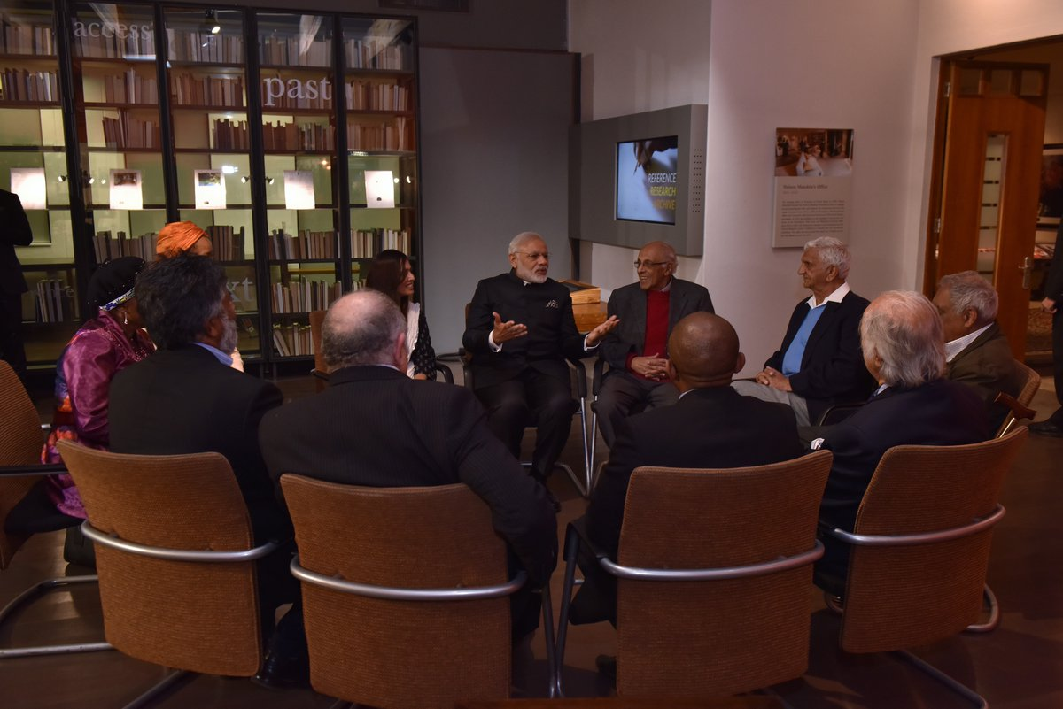 India's PM visit SA to drum up business