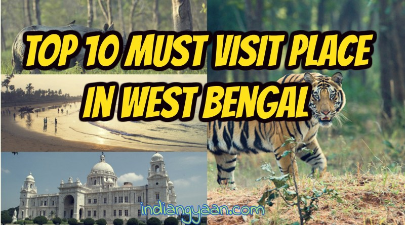 Top places in west bengal