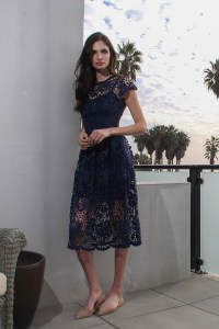 Body Frock Poppy navy dress