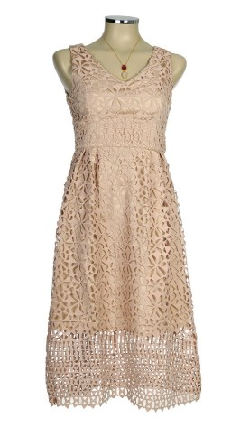 Chocklate-Pop Dentelle Dress
