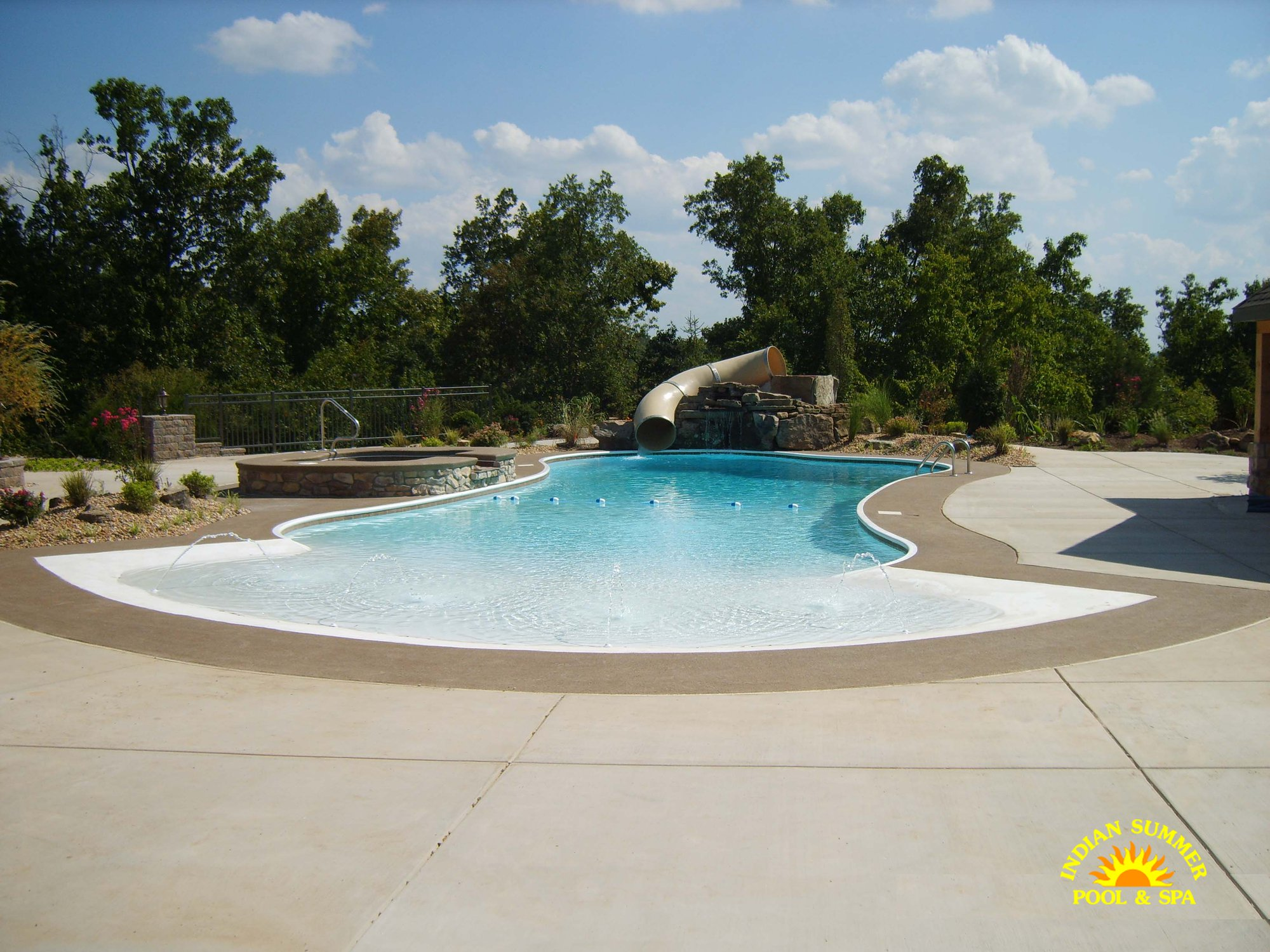 Jacuzzi Pool India Hybrid Pools Springfield Mo Indian Summer Pool And Spa