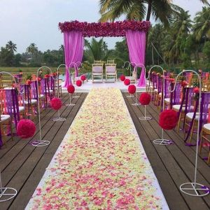 How to Take Indian Wedding Trends from Inspiration to Execution-Airy_Floral_Indian_Wedding_Mandap