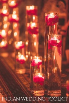 The Indian Wedding Planning Checklist [you can actually use]-pillar candle