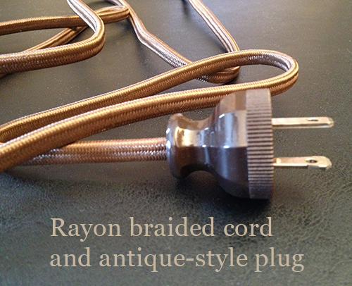 Rayon Braided Lamp Cord