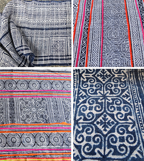 DellShop Thai and Hmong Textiles on Etsy