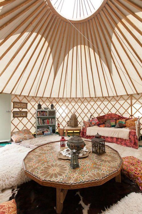 Yurt via Wilde and Watson