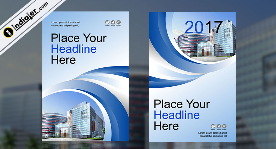 Corporate Brochure Template Flyer v 6 - Indiater