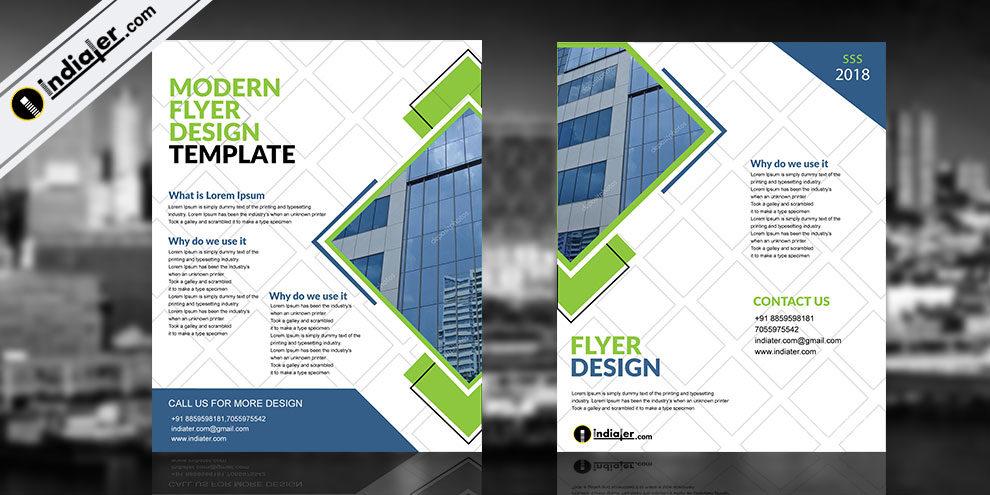 Free Modern Corporate Brochure Template - Indiater