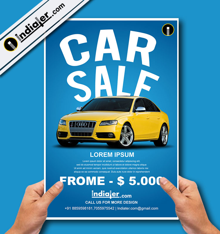 Car Sele Flyer Template - Indiater - car for sale flyer template