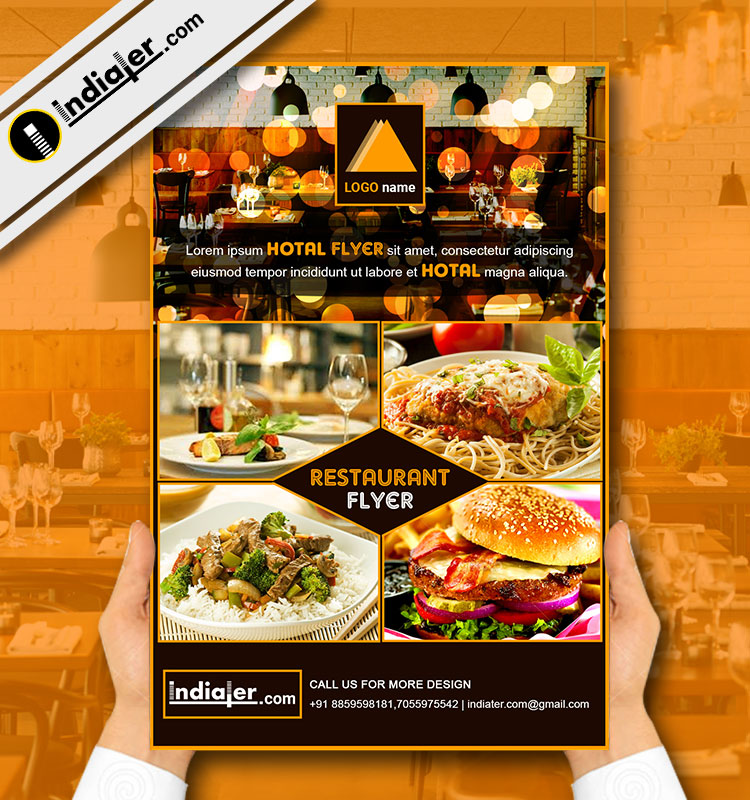 restaurants flyer - Ozilalmanoof