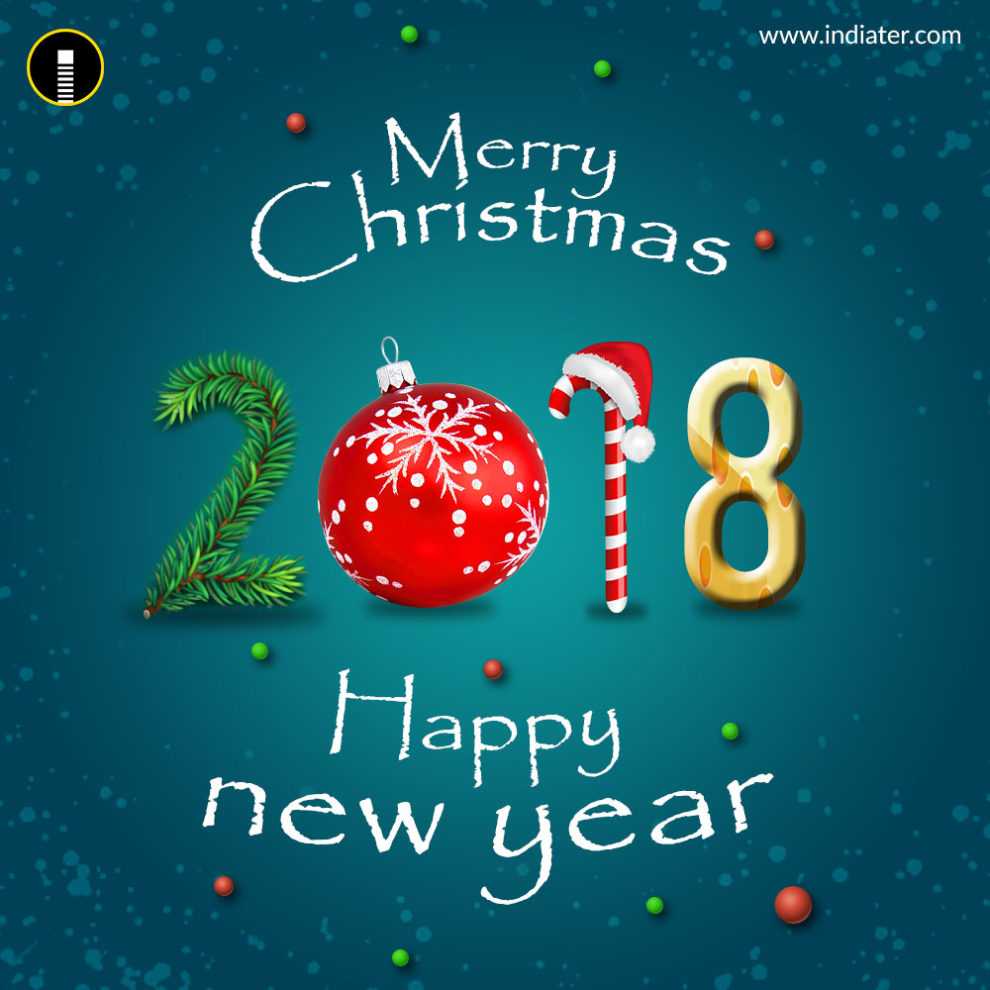 Christmas Letter Infographic Template Auto Electrical Wiring Diagram Rj31x Rj45 Merry And Happy New Year 2018 Greeting Psd