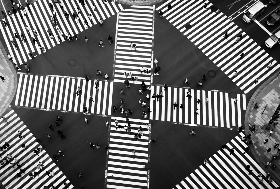 Tokyo ginza crossroads